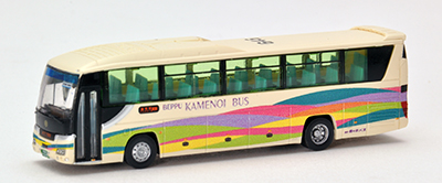 バスコレで行こう3 亀の井バス ゆふいん号