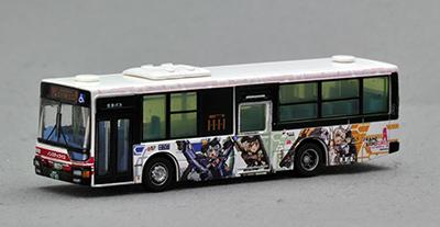 立川バスフレームアームズ・ガールラッピングバス